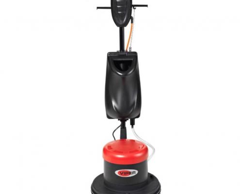 VIPER LS 160 HD egytárcsás súroló, kefével, tartállyal, padtartóval
